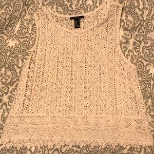 Forever 21 Crochet Top